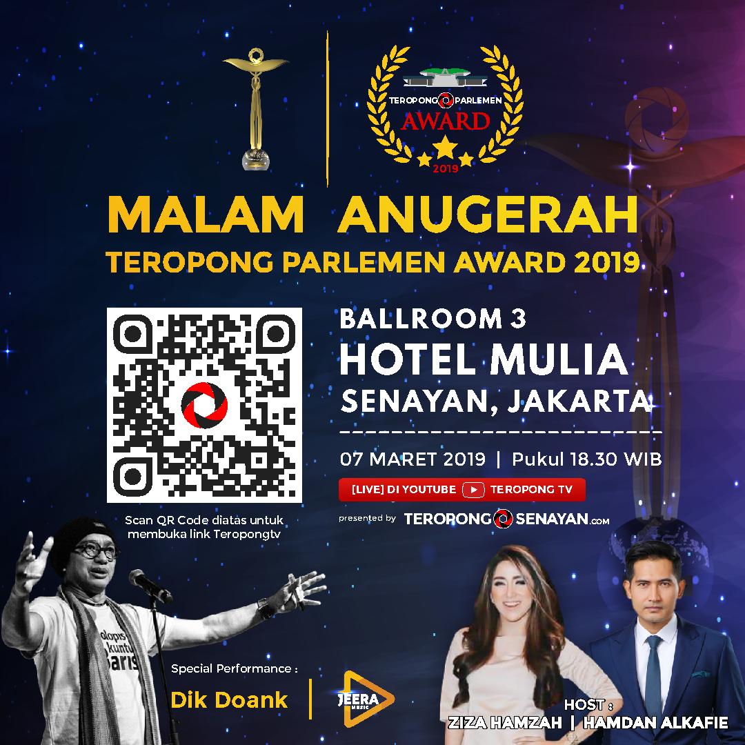 Teropong Parlemen Award 2019
