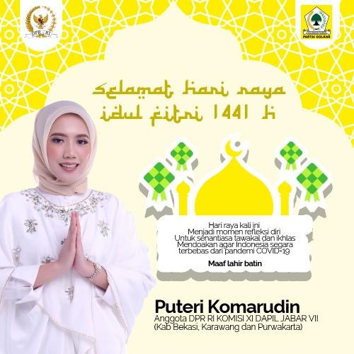 Idul Fitri 1441H Puteri Komarudin