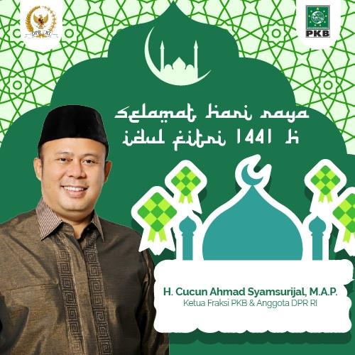 Idul Fitri 1441H Cucun Ahmad Syamsurijal