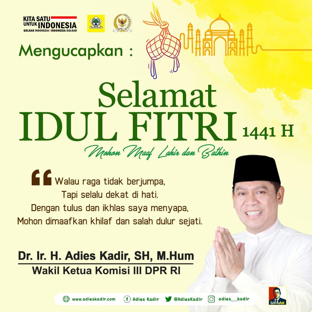 Idul Fitri 1441H Adies Kadir