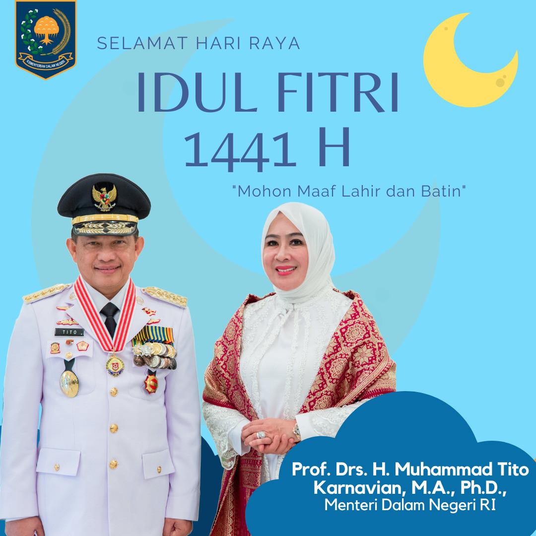 Idul Fitri 1441H Mendagri Tito Karnavian