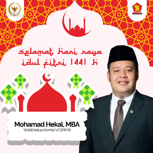 Idul Fitri 1441H Mohamad Hekal
