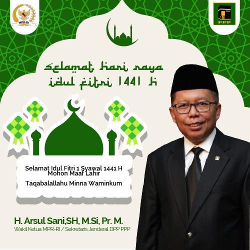 Idul Fitri 1441H Arsul Sani